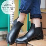 【再入荷】◆[追加12回目]ショート丈サイドゴアレインブーツ/長靴/雑貨/雨具◆414354