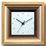 色合いが可愛いナチュラルフレンチテイストの時計♪/DECLOCK/papier/Brown/NA