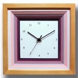 色合いが可愛いナチュラルフレンチテイストの時計♪/DECLOCK/papier/purpure/NA