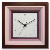 色合いが可愛いナチュラルフレンチテイストの時計♪/DECLOCK/papier/purpure/BR