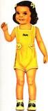 B.Shackman ペーパードール   Nursery School Paper Doll  即納単品販売分