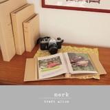 ☆SALE☆ナチュラルテイストなクラフトアルバム 【KRAFT ALBUM】*