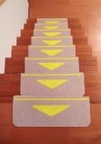 折り曲げ付階段マット 三角マーク付<55×21cm>