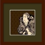 [和柄]和額装シリーズ KABUKI(歌舞伎)WG-1001