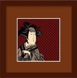 [和柄]和額装シリーズ KABUKI(歌舞伎)WG-1003