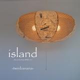 【直送可能/日本製和紙照明】和風照明4灯ペンダントライト SPN4-1071 island 電球別売