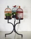 【インテリア・スタンド】とにかくかわいい! 3カラー Birdゲージ スタンド