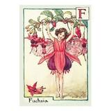 【原画の魅力をそのままに】ポストカード<Fuchsia Fairy>