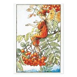 【原画の魅力をそのままに】ポストカード<Mountain Ash Fairy>