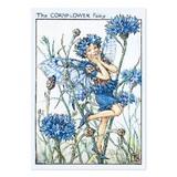 【原画の魅力をそのままに】ポストカード<Cornflower Fairy>