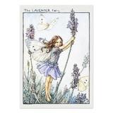 【原画の魅力をそのままに】ポストカード<Lavender Fairy>