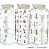 【Moomin】ムーミンキャラクター ガラスポット