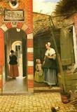 The Medici Society London ポストカード 母親と子供