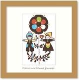 北欧テイストの色使いとデザインがかわいいミニアートコレクション<タカミヤユキコ>Boy&Girl