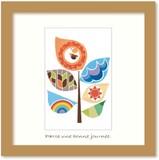 北欧テイストの色使いとデザインがかわいいミニアートコレクション<タカミヤユキコ>Mix/Tree