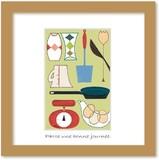 北欧テイストの色使いとデザインがかわいいミニアートコレクション<タカミヤユキコ>キッチン