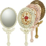 Gurley Roza Handy Mirror Size M Girly Items Mirror Zinc Alloy