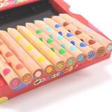 【2色が1本になった風合い豊かな色鉛筆】 ミックス色鉛筆(10本入り)
