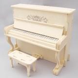 ☆木製組立てキット3D立体パズル「3Dパズル名人(楽器)」ピアノ
