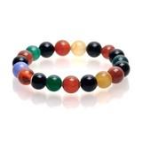 天然石カラフルカルセドニー(染色)ブレスレット 【SD限定】心と体のバランスを整える