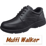 【MultiWalker】牛皮で足馴染みするウォーキングシューズ ユニセックス BC71-30GF
