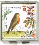FRINGE STUDIO  スクエアコンパクトミラー <鳥>