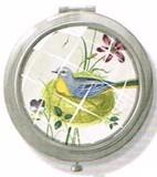FRINGE STUDIO  ラウンドコンパクトミラー <鳥>