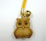Call Wood Grain Owl Strap