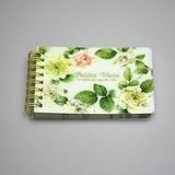 Wild Rose Ring Memo Notebook