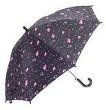 【ペペリーノ】子供用雨傘 ROCKハートプリント