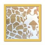 Wood Carving Art GIRAFFE/NA