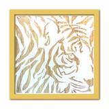 Wood Carving Art TIGER/BR
