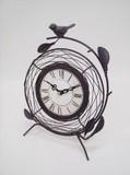 【直送可】アンティーク調 置時計