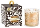 【在庫処分セール】ミッシェルデザインアロマキャンドル【ブラックダマスク】香り:ハニーアーモンド