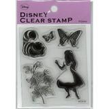 【Disny Stamp】アリス シルエットスタンプ2STP−D0005