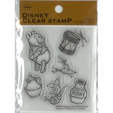 【Disny Stamp】プー クリアスタンプSTP−D0009
