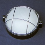 昭和のレトロ感 船舶風ガーデンライト<照明・アンティーク・ガラス・インテリア・シーリングライト・壁面>