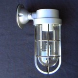 昭和レトロ感!船舶風ブラケットライト<照明・アンティーク・ガラス・インテリア・ブラケット・壁面照明>