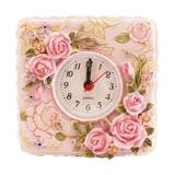 【5/7再入荷】プリンセスデザイン♪バラモチーフ付き置時計