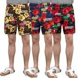 【SALE】 STUSSY 【ステューシー】 HAWAIIAN SPORT スウィム パンツ ( 全3色 ) 水着