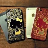 【ハローキティ】本漆 iPhone 5 カスタムカバー ハローキティ【iPhone SE/5s/5対応】
