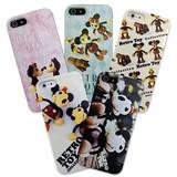 カスタムカバー iPhone 5 スライド式 Disneyレトロ【iPhone SE/5s/5対応】