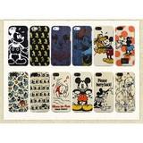 【Disney】カスタムカバー iPhone 5 ファブリック【iPhone SE/5s/5対応】