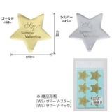 【サマーバレンタイン/シール】WS/サマーV・スター<1袋48枚入り>