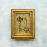 """ロイヤルサロン[Wall デコレーション""""key""""]"""