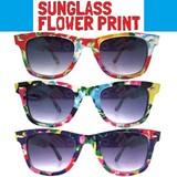 サングラス フラワー3色アソート * フェスやイベントに♪紫外線対策に!