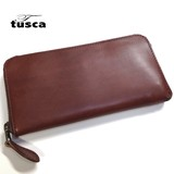 New Color Tochigi Leather Cow Leather Round Long Wallet
