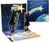 UP WITH PAPERトレジャーズカード(飛び出すカード) 卒業にぴったり <星×地球>
