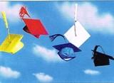AVANTI PRESS グリーティングカード [卒業向きカード] <空×帽子>
