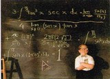 AVANTI PRESS グリーティングカード [卒業向きカード] <黒板×少年>